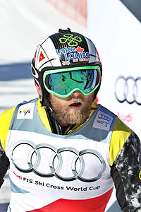 FIS Ski Cross World Cup 2015 - Megève - 20150313 - Brady Leman.jpg