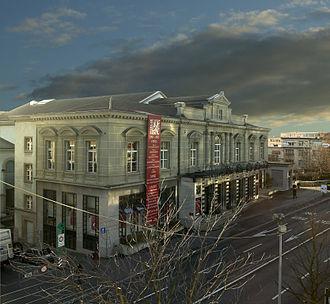 Lausanne Opera - Image: Façade Opéra de Lausanne