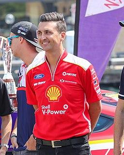 Fabian Coulthard British racing driver