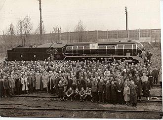 Fablok - Image: Fablok 35lat 5000Lokomotyw 1959