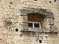 Facade with WWII Artillery Strike - Citadella - Buda Side - Budapest - Hungary - 02.jpg