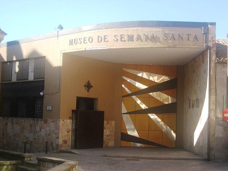 Archivo:Fachada del Museo de Semana Santa de Zamora.JPG