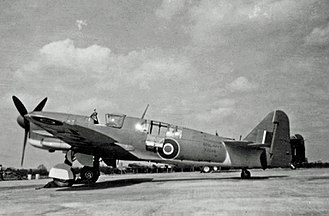 Fairey Firefly - Operational FAA Fairey Firefly FR.1 wearing late World War Two camouflage