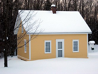 Fairfield, Vermont - Replica of Chester A. Arthur's birthplace