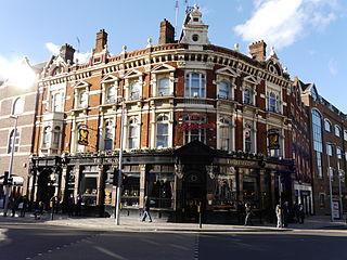 pub in Battersea, London