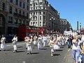Falun Gong protest in London 2006.jpg