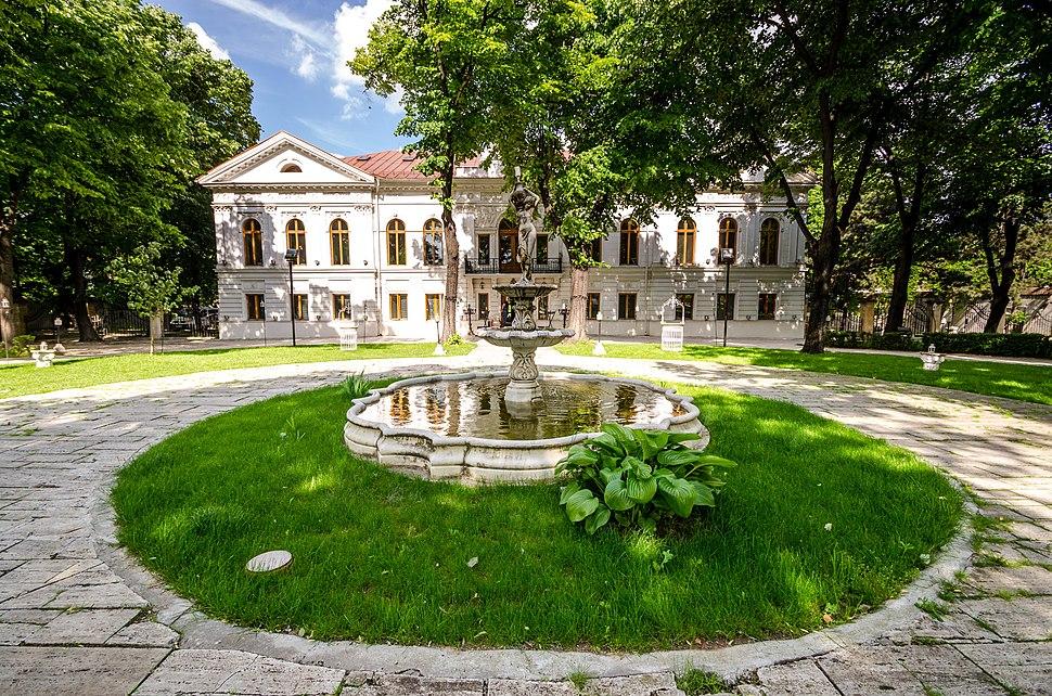 Fantana palatul Ghica