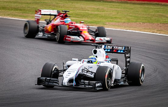 Felipe Massa & Fernando Alonso 2014 British GP 012