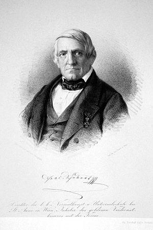 Ferdinand Schubert - Ferdinand Schubert, Lithograph by Josef Kriehuber in 1850