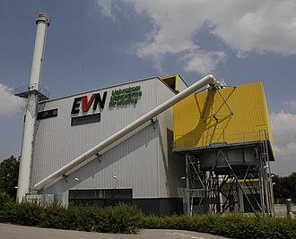 EVN Group - Image: Fernheizwerk Mödling von West