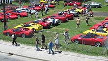 Ferrari model history timeline