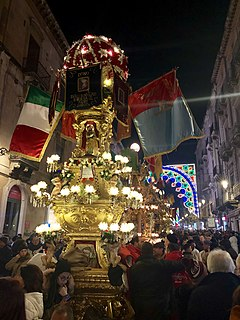 Festival of Saint Agatha (Catania)