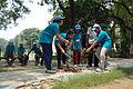 Fire-making - Survival Programme - Summer Camp - Nisana Foundation - Sibpur BE College Model High School - Howrah 2013-06-09 9652.JPG