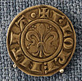 Firenze, repubblica, grosso da 1 soldo, 1250-56.JPG