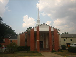 Mangham, Louisiana - First Baptist Church of Mangham