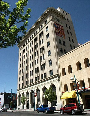 First National Bank Building (Albuquerque) - The First National Bank Building in Albuquerque