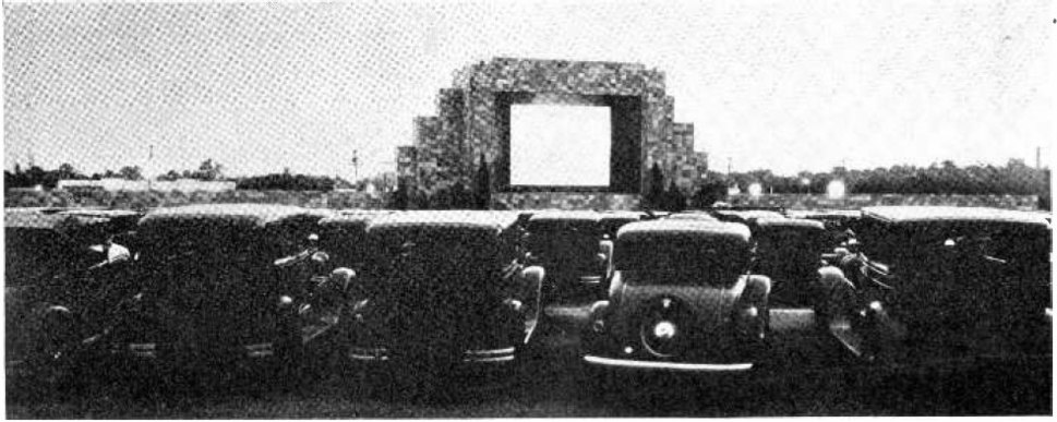 First drive-in theater Camden NJ 1933