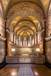 Fitzrovia Chapel former chapel of Middlesex Hospital, London
