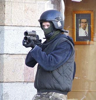 Flash-ball - Image: Flashball French Police 01