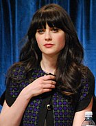 Flickr - Genevieve719 - Zooey Deschanel, Jake Johnson, Max Greenfield (cropped).jpg