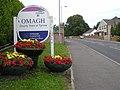 Floral display at Hospital Road, Omagh - geograph.org.uk - 1394896.jpg