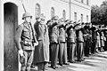 """Fo30141711140079 """"Reservebataljon Holmestrand paraderer for Quisling på Slottsplassen"""" 1942-06-14 (NTBs krigsarkiv, Riksarkivet).jpg"""