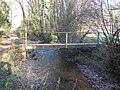 Footbridge, on the River Dart - geograph.org.uk - 1625578.jpg