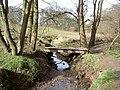 Footbridge over Prenton Brook. - geograph.org.uk - 734798.jpg