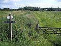 Footpath Junction Near Burnham Overy Mill - geograph.org.uk - 499444.jpg