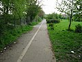Footpath and cycle track into Ashford - geograph.org.uk - 800670.jpg
