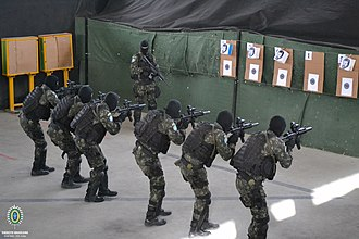 Brazilian Special Operations Command - Brazilian commandos during a training exercise.