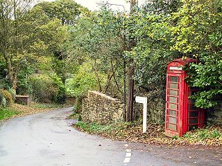 Thornhill, Derbyshire village and civil parish in the county of Derbyshire, England