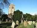 Forgotten graves in the autumn sun - geograph.org.uk - 1567285.jpg