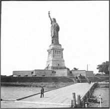 e8614e2e5 Fort Wood's star-shaped walls became the base of the Statue of Liberty.