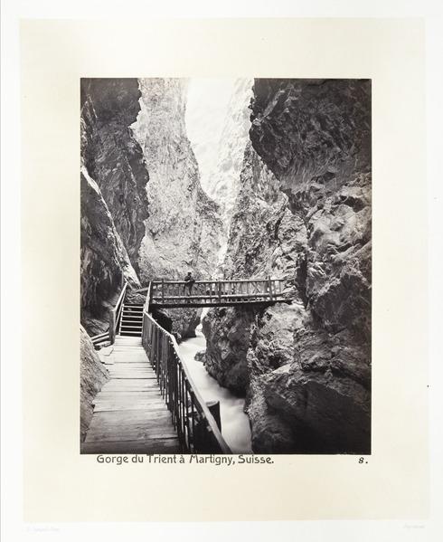 Fotografi av gorges du Trient i Martigny - Hallwylska museet - 103141