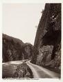 Fotografi av vägen till Låteforsen, Odde i Hardanger, Norge - Hallwylska museet - 105722.tif