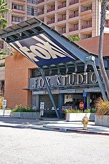 Les studios de la Fox, à Los Angeles