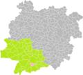 Fréchou (Lot-et-Garonne) dans son Arrondissement.png