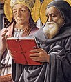 Fra Filippo Lippi - Sts Gregory and Jerome (detail) - WGA13182.jpg