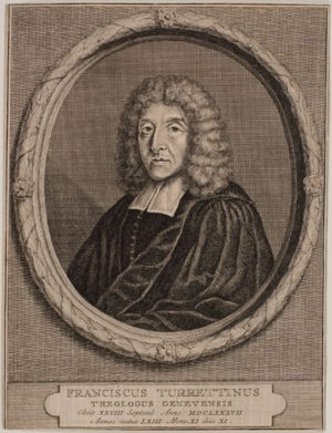 Francis Turretin - Portrait of Francis Turretin