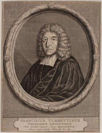 François Turrettini - Portrait of François Turrettini
