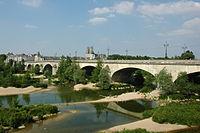 France Orleans Pont George V Cathedrale 02.JPG