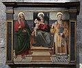 Francesco d'avanzarano detto il fantastico, madonna col bambino e santi, 1510 ca. 01.jpg