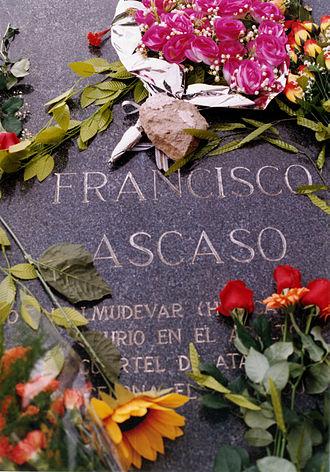 Francisco Ascaso - Ascaso's grave