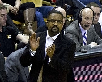 Frank Haith - Frank Haith in March 2014 at Mizzou Arena