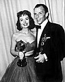 Frank Sinatra and Donna Reed at the 1954 Academy Awards.jpg