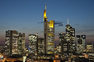 Commerzbank Tower - Image: Frankfurt Skyline 2012