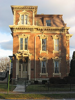 National Register of Historic Places listings in Sandusky County, Ohio - Image: Frederick Fabing House