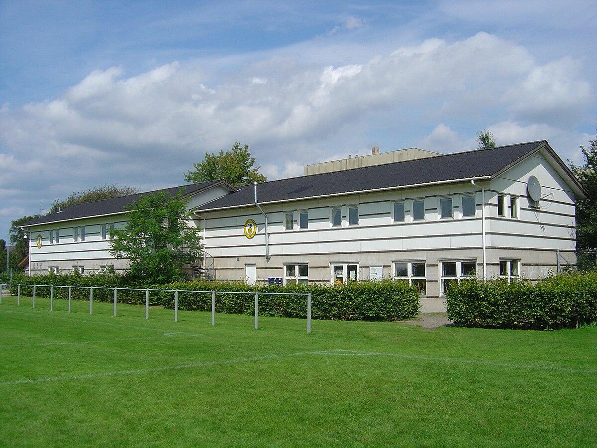 Frederiksberg Boldklub klubhus - set fra sydvest