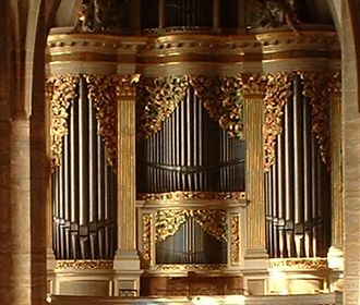 Freiberg Cathedral - Gottfried Silbermann organ at Freiberg Cathedral